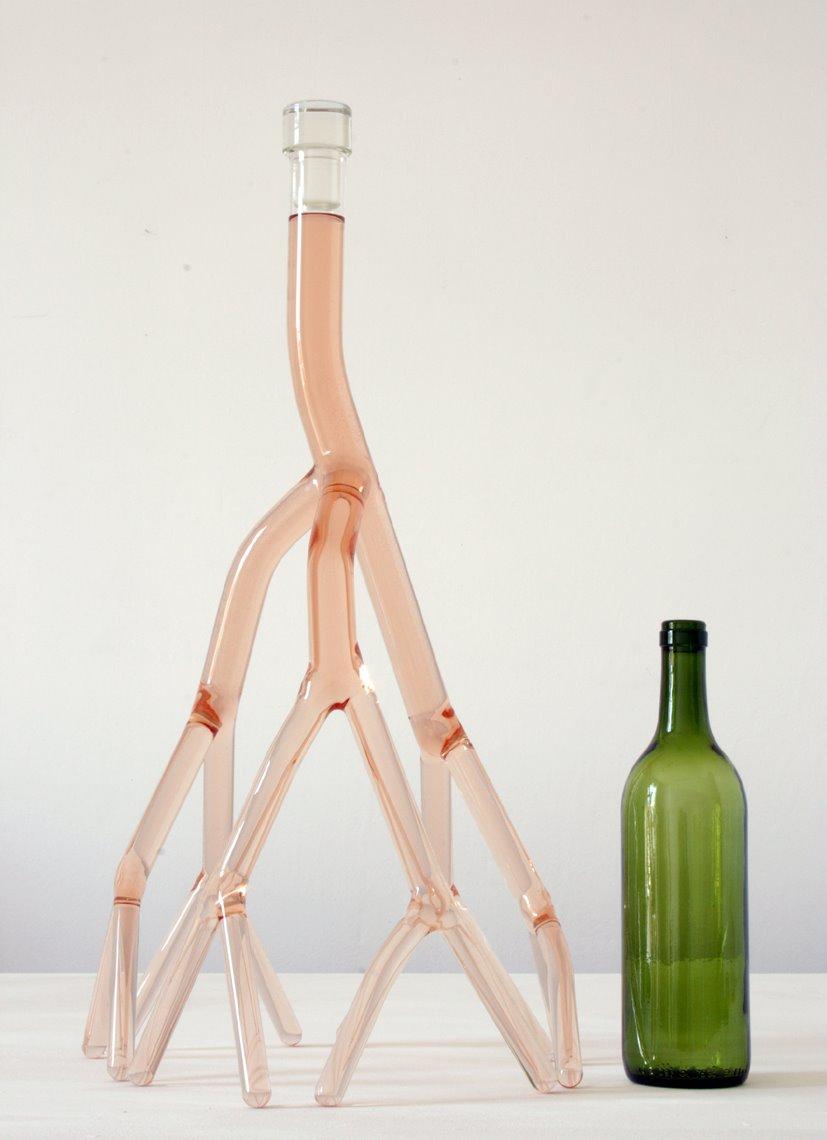 nc2b04 rose bottle Alkoholowy zawrót głowy