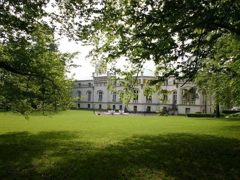 Wypoczynek w pałacu