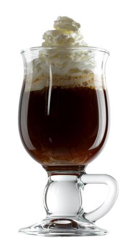 irish coffee Jak serwować kawę?