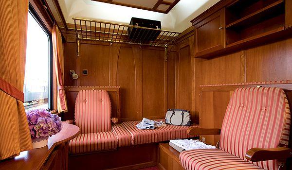 orient kabina Orient Expressem przez Europę