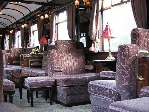 orient wnatrze Orient Expressem przez Europę