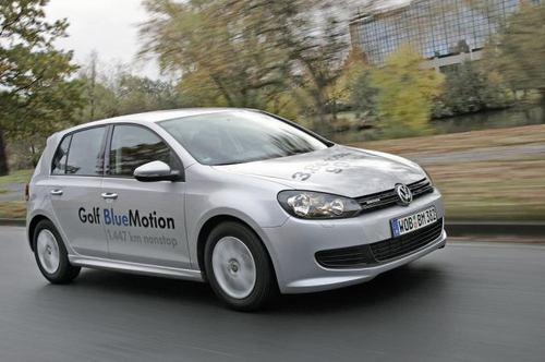 VW Golf - najoszczędniejszy na świecie!