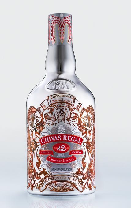 Whisky Chivas w kreacji Lacroix