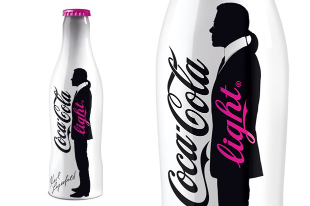 Lagerfeld i Coca-Cola Light