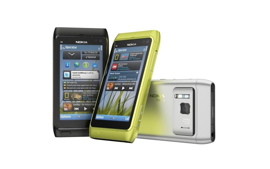 Pierwszy telefon Nokia z Symbianem^3 - Nokia N8