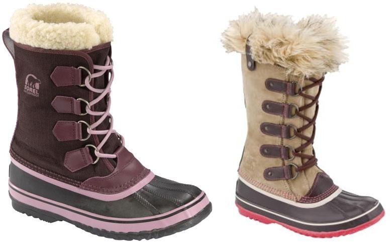 Obuwie firmy Sorel na zimę 2010