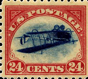 the inverted jenny3 Najdroższe znaczki pocztowe na świecie