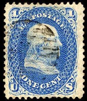 us franklin z grill3 Najdroższe znaczki pocztowe na świecie