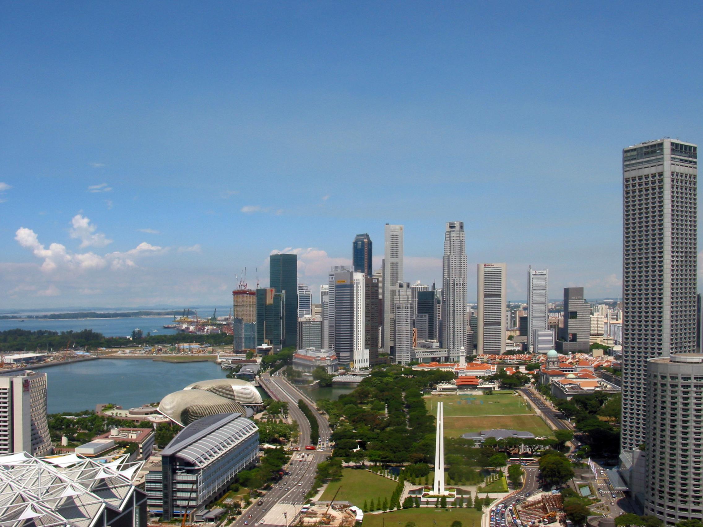 Singapur - miejsce na urlop