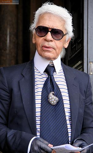Ekscentryczny Karl Lagerfeld