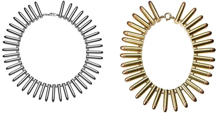 Biżuteria z pocisków od Bullet Girl