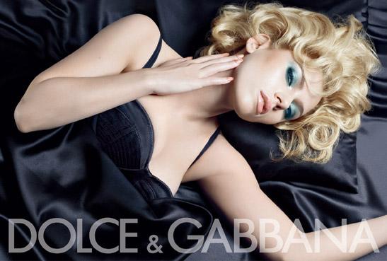Make up według Dolce&Gabbana