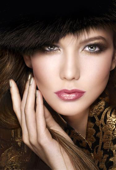 Świąteczny makijaż