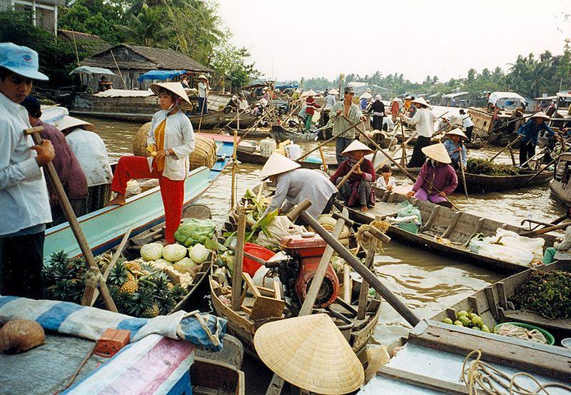 800px canthofloatingmarket Cudze poznajmy Wietnam dla odważnych