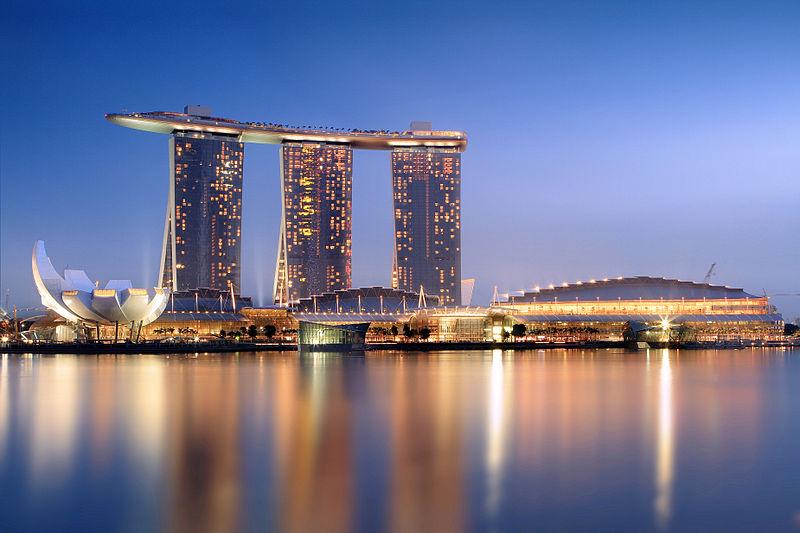 Hotel Marina Bay Sands duma Singapuru