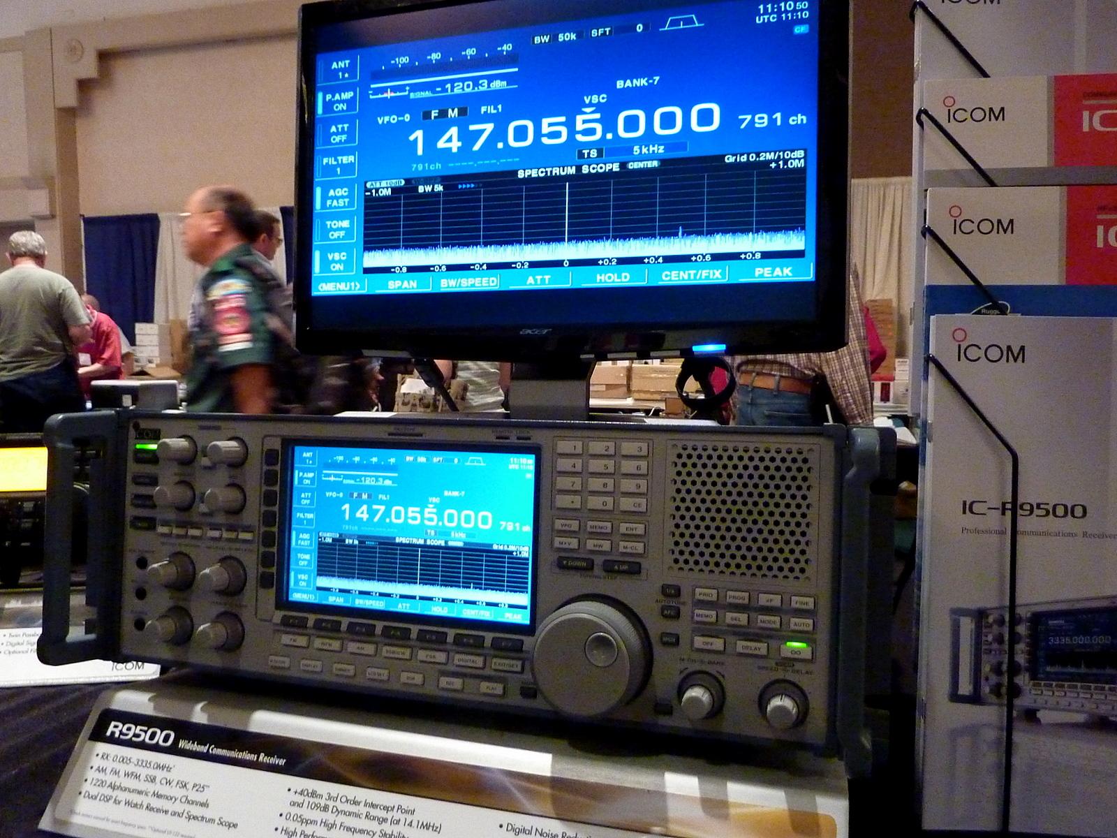 Stacjonarny ICOM IC-R9500