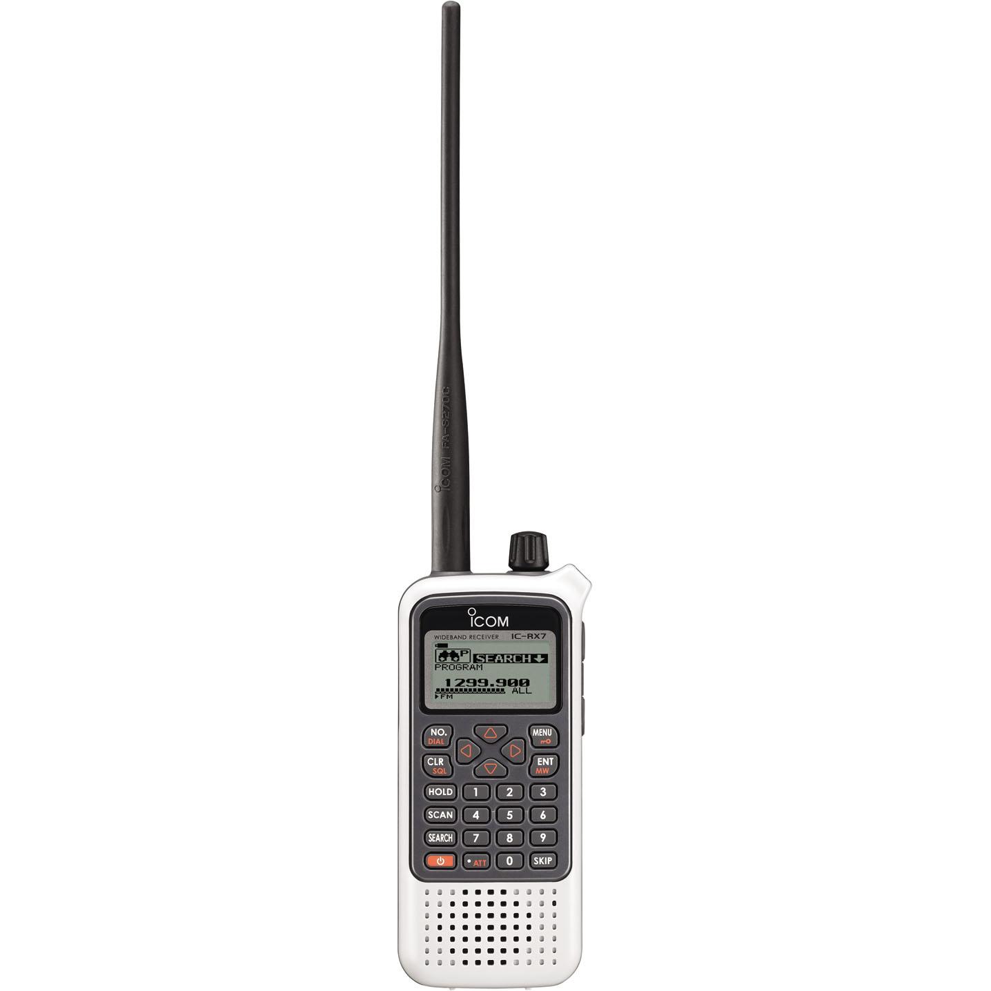 przenośny skaner częstotliwości IC-RX7