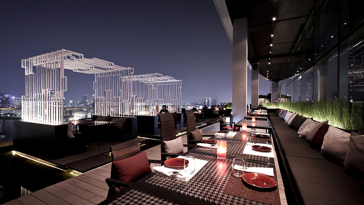 Zense - restauracja na dachu