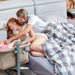 Praktyczne i wygodne łóżeczko dostawne