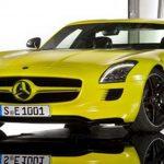 SLS AMG E-Cell : Elektryczna pszczółka Mercedesa